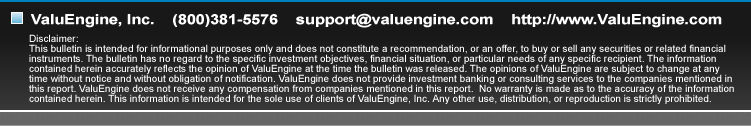 ValuEngine.com - Rational advice, smarter investing.